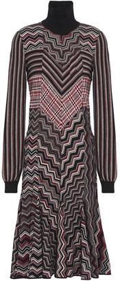 Missoni Flared Wool-blend Dress