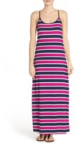 Tommy Bahama Nautical Stripe Cover-Up Maxi Dress