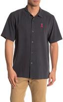 Tommy Bahama MLB(R) Top Of The Ninth Silk Regular Fit Camp Shirt