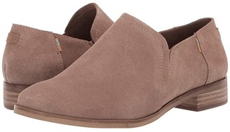 Toms Shaye Low (Taupe Gray Suede) Women's Shoes