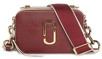Marc Jacobs Large The Sure Shot Coated Leather Camera Bag