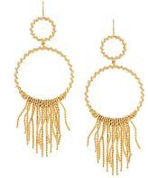 Aurelie Bidermann 'Marissa' chandelier hoop earrings
