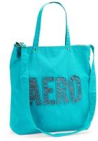 Aeropostale Aero Zebra Print Tote Bag