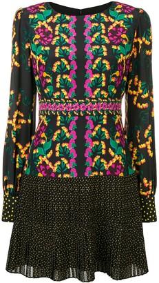 Saloni Printed Mini Dress