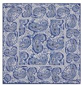 Turnbull & Asser Paisley Print Prink Silk Pocket Square