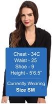Splendid Thermal L/S Cowl Neck Tunic Women's Long Sleeve Pullover