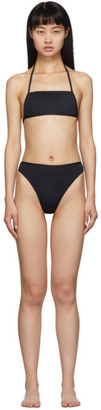 Rudi Gernreich Black The Original Thong Bikini