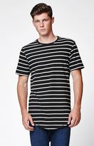 On The Byas Calero Striped Scallop T-Shirt