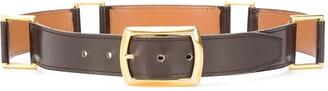 Hermes Pre-Owned Loops Buckled Belt
