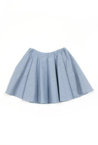 Peas and Queues Twirl Circle Skirt