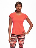 Old Navy Semi-Fitted Go-Dry Cool Running Tee for Women