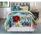 Complete Comforter Set Full Size Bedding Set Tropical Floral with Bonus Free E-book
