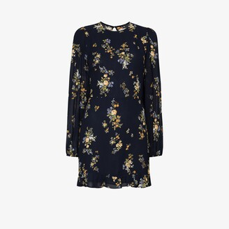 Reformation Resnick floral print mini dress
