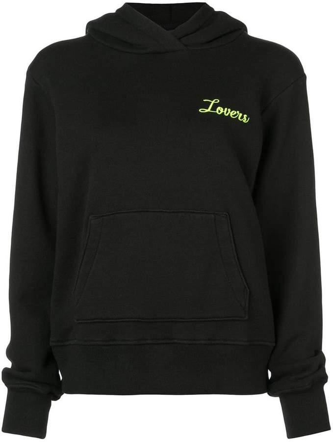 Amiri Lovers print hoodie