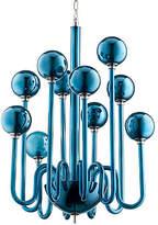 Cyan Marilyn Small Chandelier - Blue