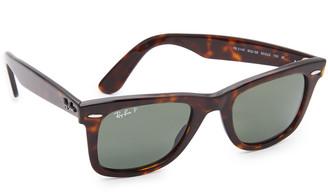 Ray-Ban RB2140 Wayfarer Polarized Sunglasses