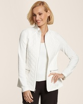 Chico's Zenergy Nala Quilted French Terry Jacket
