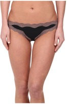 Calvin Klein Underwear Cotton Thong with Lace