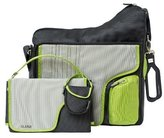 JJ Cole Collections System Diaper Bag, Green Stitch (Discontinued by Manufacturer) by