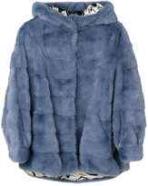 Simonetta Ravizza cropped fur jacket - women - Silk/Mink Fur - 38