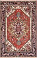 Ecarpetgallery eCarpet Gallery 223018 Hand-Knotted Serapi Heritage Medallion Corners 5' x 7' 100% Wool Area Rug