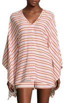 MICHAEL Michael Kors Multi-Striped Cover-Up