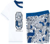 Little Marc Jacobs Graphic T-shirt and matching shorts