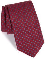 Eton Men's Floral Linen & Silk Tie