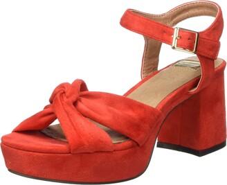 Eferri Women's Motillejo Heel Shoe Pink Size: 8.5 UK