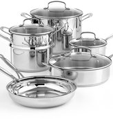 CLOSEOUT! Cuisinart Chef's Classic Stainless Steel 11 Piece Cookware Set