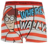 Character Wheres Wally Kids Single Boxers Short Trunks Underwear Brief