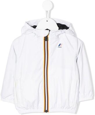 K Way Kids Zip-Up Hooded Jackets