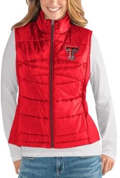 G Iii Sports G-iii Sports Women's Texas Tech Red Raiders Puffer Vest