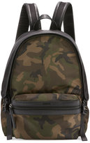 Moncler New Romeo Camouflage Canvas & Nylon Backpack