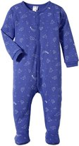 Petit Lem Little Star Blue Sleeper (Baby) - Gray/Purple - 3 Months