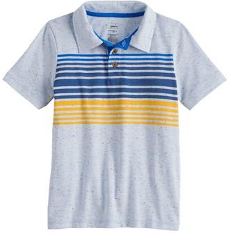 Sonoma Goods For Life Boys 4-12 Striped Polo in Regular, Slim & Husky