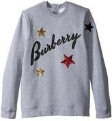 Burberry Star Long Sleeve Top Girl's Long Sleeve Pullover