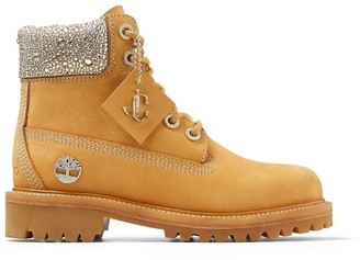 Jimmy Choo x Timberland The Original Leather Embellished Boots