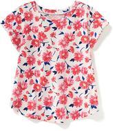 Old Navy Floral-Print Surplice-Back Top for Toddler Girls
