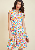 ModCloth Leaf and They Will Follow Shirt Dress in 8 (UK)