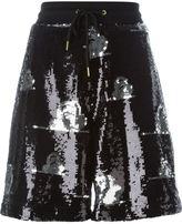 Joyrich sequin elastic waist shorts