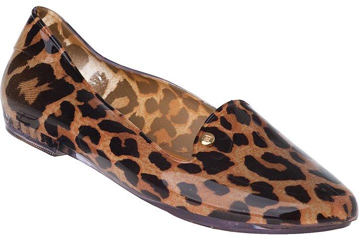 Melissa Virtue Loafer Leopard Jelly