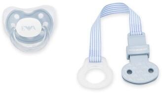 Emporio Armani Kids Logo Print Baby Pacifier