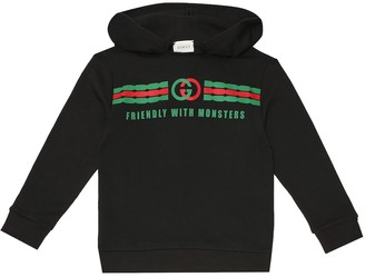 Gucci Kids Cotton hoodie
