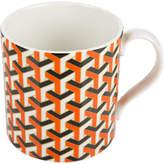 Jonathan Adler Carnaby Mug - Versaille - Orange