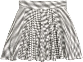 1901 Kids' Plaid Skater Skirt