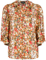 Isabel Marant floral printed blouse