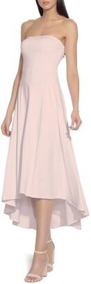 Susana Monaco Strapless High/Low Dress