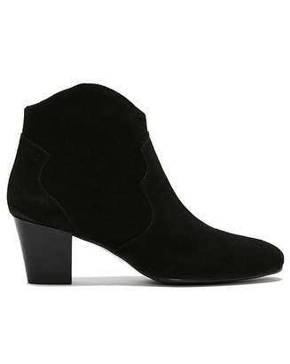 Daniel Footwear Daniel Barara Suede Western Ankle Boots
