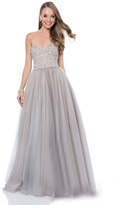 Terani Couture 1611P1250A Embellished Sweetheart A-Line Gown